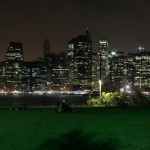 Wiese im Brooklyn Bridge Park